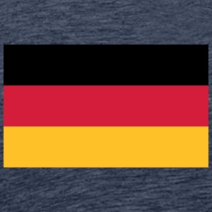 Tysklands nationale flag - Herre premium T-shirt