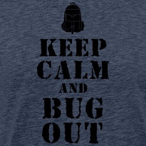 Fuga zaino / Bug-Out-Bag prepper T-shirt - Maglietta Premium da uomo