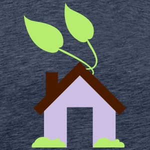Green House Icon - Herre premium T-shirt