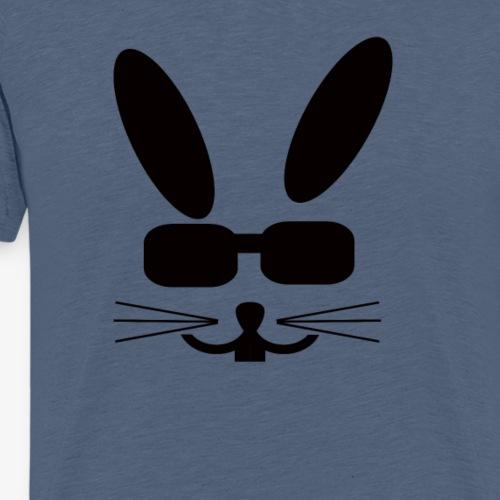 Osterhase mit Sonnenbrille - Männer Premium T-Shirt