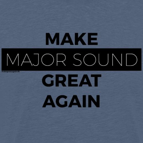 Design Major Sound black - Männer Premium T-Shirt