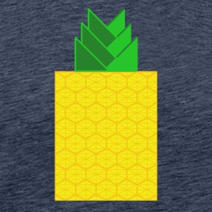 DIGITAL FRUKT - Digital ANANAS - Digi Ananas - Premium T-skjorte for menn