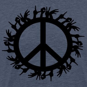 ++ ++ Love & Peace - Men's Premium T-Shirt