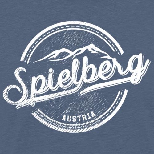 Spielberg-Vintage - weiß - Männer Premium T-Shirt