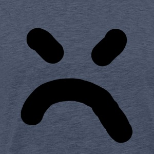 slecht smiley - Mannen Premium T-shirt