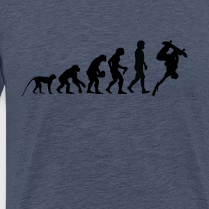 Evolution SKATER - Men's Premium T-Shirt