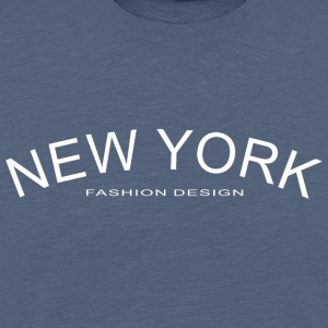 NEW YORK FASHION DESIGN - Koszulka męska Premium