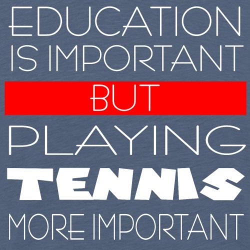 Playing Tennis - Männer Premium T-Shirt