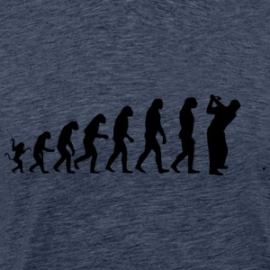 golf evolution - Premium-T-shirt herr