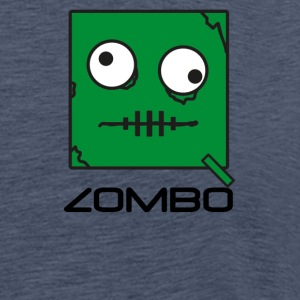 Zombie 'Zombo' Monster | Qbik Design Series - T-shirt Premium Homme