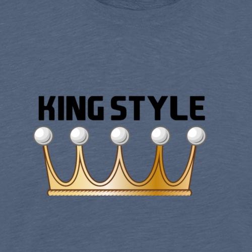 KINGSTYLE - Männer Premium T-Shirt