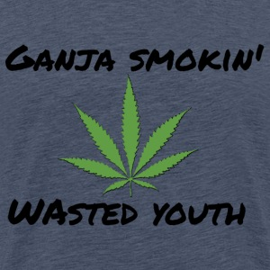 Ganja smokin youth - Männer Premium T-Shirt