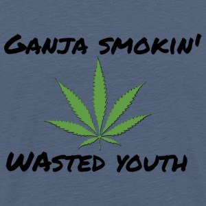 Ganja smokin' youth - Männer Premium T-Shirt