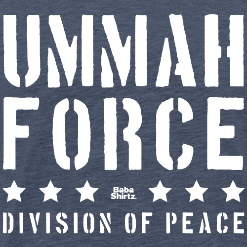 Ummah Force of Peace - Männer Premium T-Shirt
