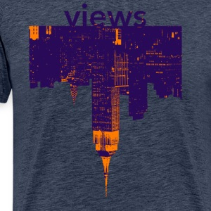 views - Men's Premium T-Shirt