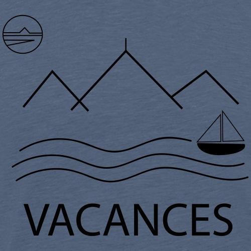 VACANCES été - T-shirt Premium Homme