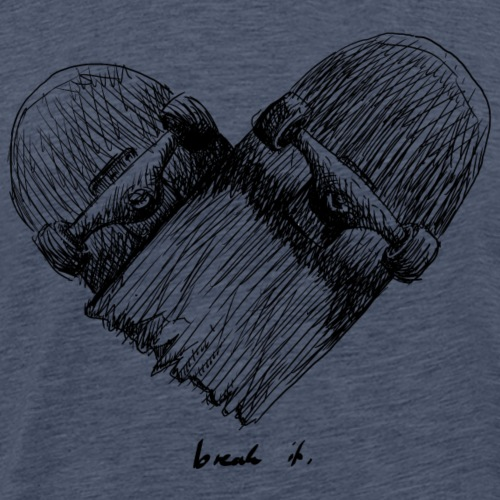 break it - Männer Premium T-Shirt