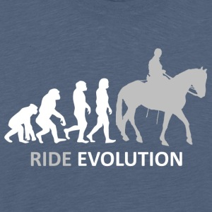 ++ ++ Ride Evolution - Herre premium T-shirt