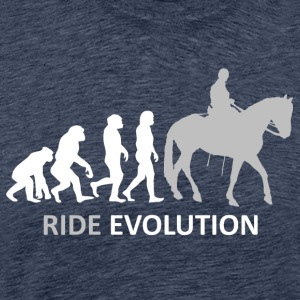 ++ ++ Ride Evolution - Premium-T-shirt herr