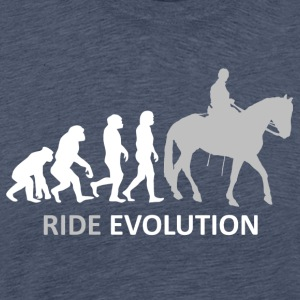 ++ ++ Ride Evolution - Premium T-skjorte for menn