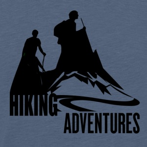 Hiking Adventures - Wanderlust - Männer Premium T-Shirt