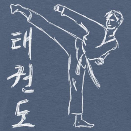 Tae Kwon Do - taekwondo - Sztuki walki - Koszulka męska Premium