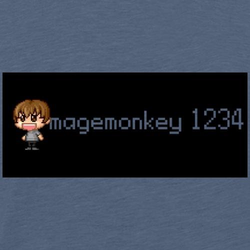 magemonkey1234's Block Logo - Men's Premium T-Shirt
