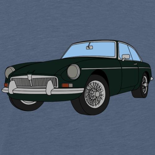 BRITISH RACING GREEN MGB - Men's Premium T-Shirt