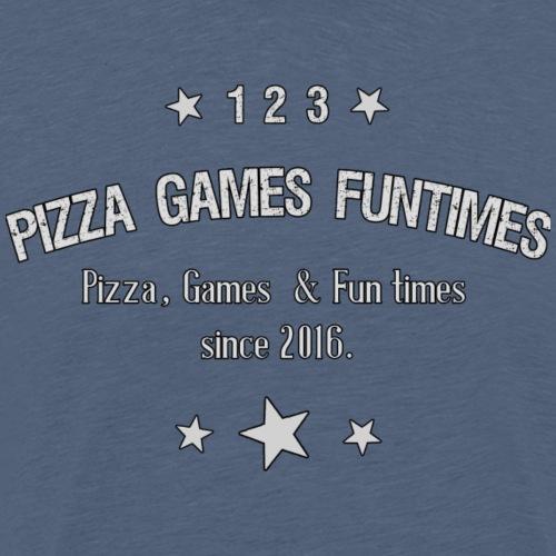 Retro Pizza - Men's Premium T-Shirt