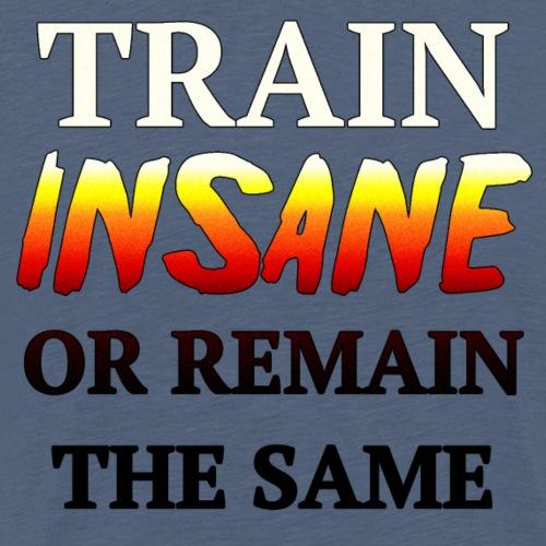 Train insane gradient - Men's Premium T-Shirt