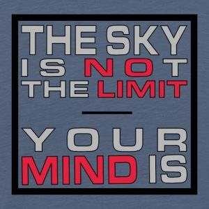 No Limit Mind - Mannen Premium T-shirt
