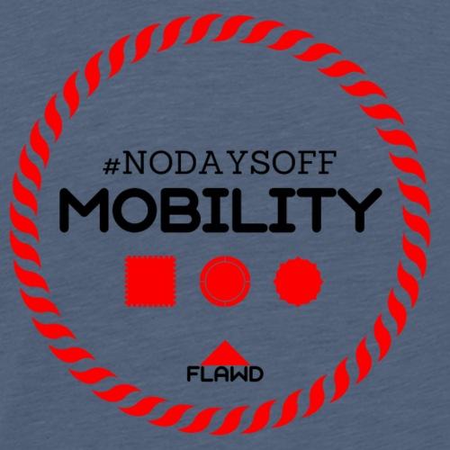 NoDaysOffMobility FLW - Premium-T-shirt herr