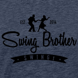Swing Swing brother - Men's Premium T-Shirt