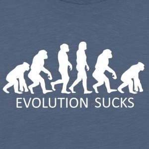 ++Evolution Sucks++ - Männer Premium T-Shirt