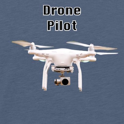 drone pilot - Men's Premium T-Shirt