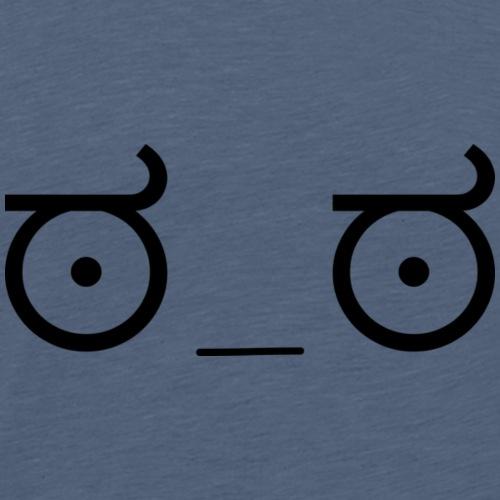 ಠ_ಠ - Männer Premium T-Shirt