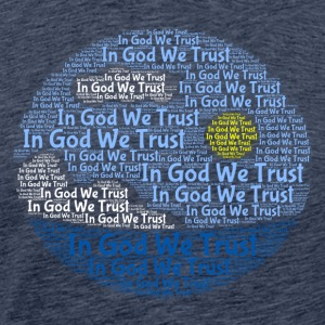 In God We Trust med Tagul Style - Premium-T-shirt herr
