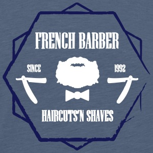 FRENCH BARBER - Men's Premium T-Shirt
