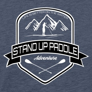 Stand Up Paddle Adventure * Men Edition * - Mannen Premium T-shirt