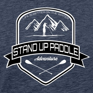 Stand Up Paddle Édition Aventure * Hommes * - T-shirt Premium Homme