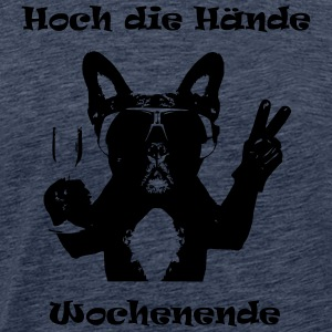 Hands up helgen - Premium-T-shirt herr