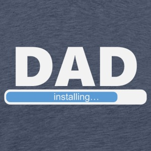 Installerar DAD (1057) - Premium-T-shirt herr