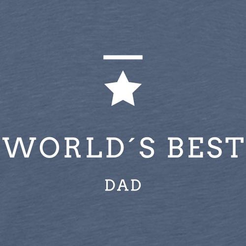 WORLD´S BEST DAD - Männer Premium T-Shirt