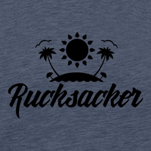 Rucksacker - Backpacker - Maglietta Premium da uomo
