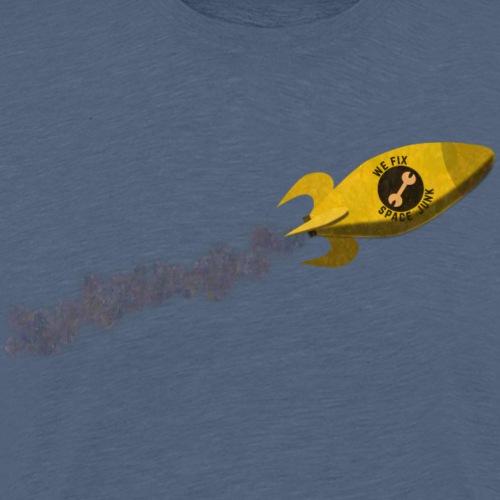 We Fix Space Junk - Men's Premium T-Shirt