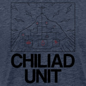 Chiliad Unit - Herre premium T-shirt