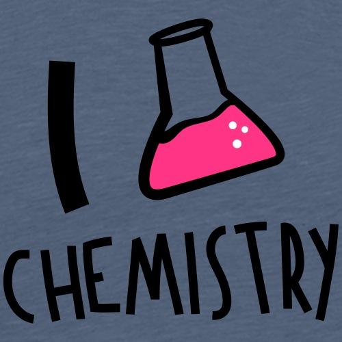 I_love_chemistry_v1 - Männer Premium T-Shirt