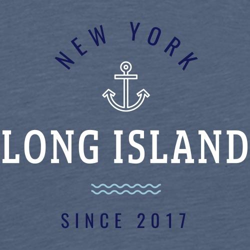 NEW YORK - LONG ISLAND - Maglietta Premium da uomo