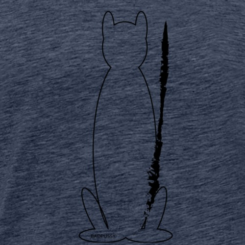 Bad-Pussy-1 - Mannen Premium T-shirt