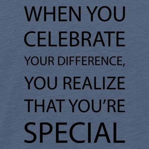You're special - Koszulka męska Premium